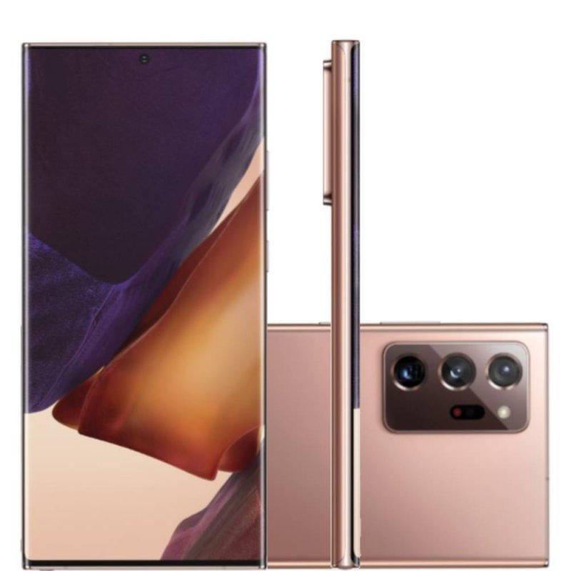Smartphone Samsung Galaxy Note20 Ultra Tela 6,9
