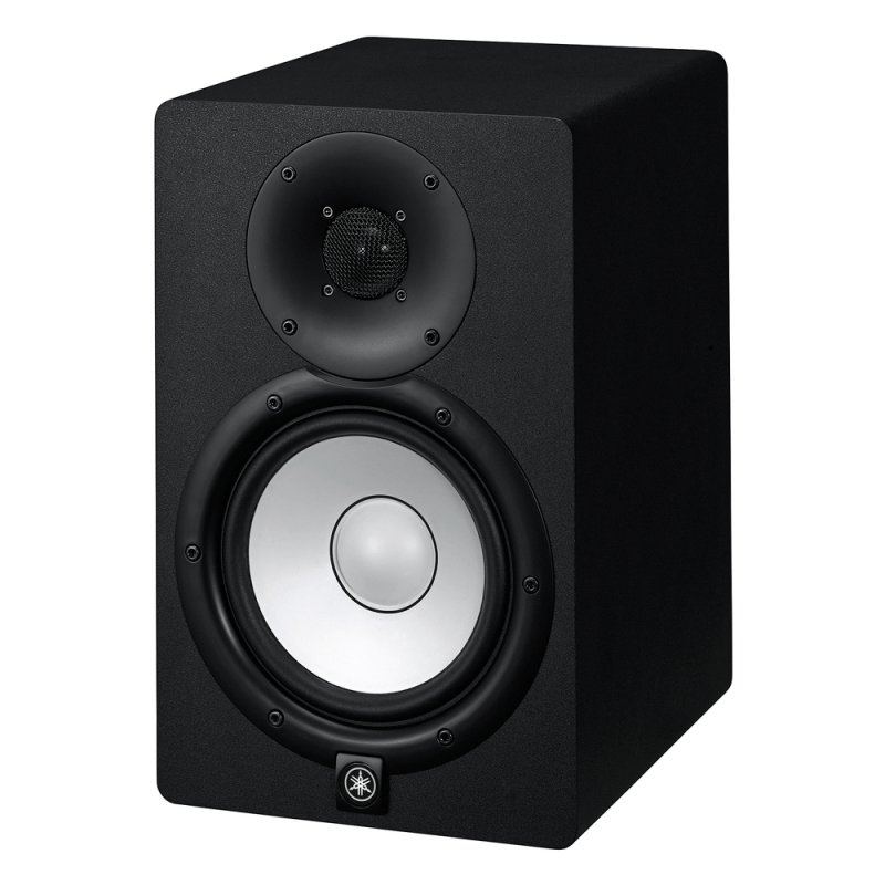 Monitor de Estúdio Yamaha HS7 Preto Bi - amplificado 110v