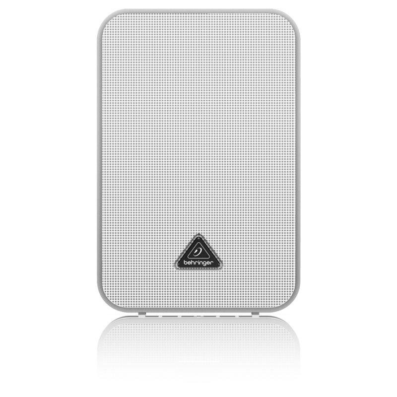Caixa de Som Ambiente ( Par ) Behringer 1C - WH com 100W de Potência Branca