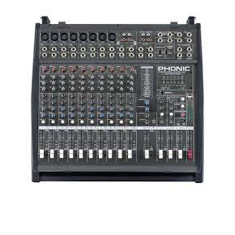 Mesa de Som Phonic 1860PV9 800 W 16 Canais VAC Chaveável