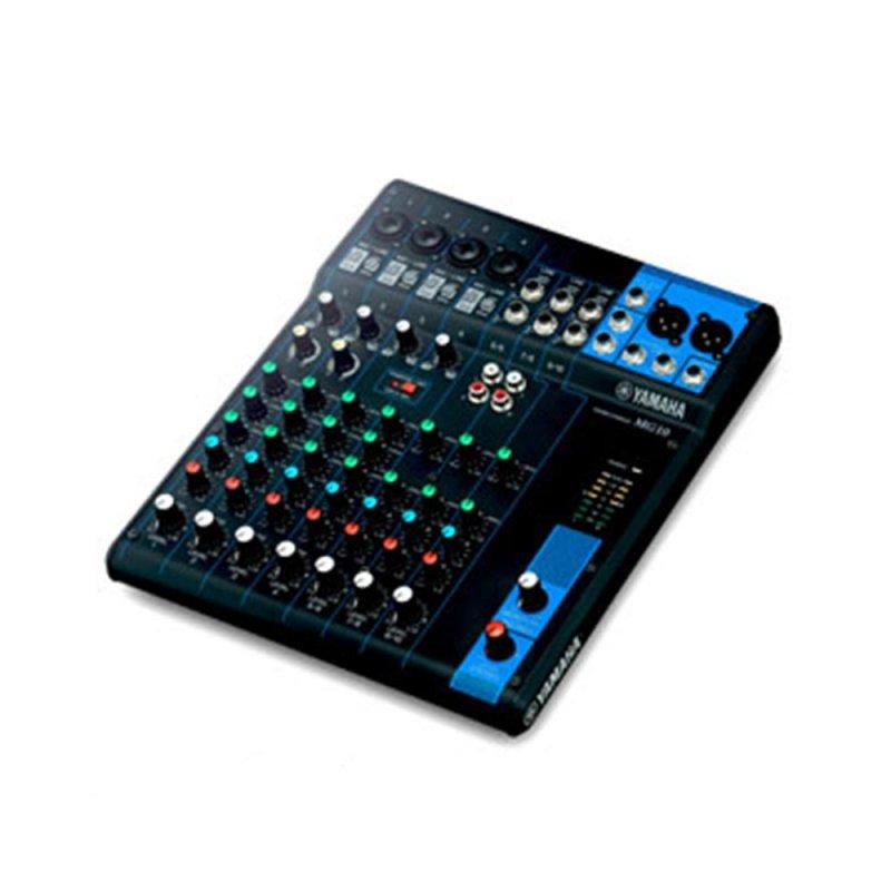 Mesa de Som Analógica Mixer 10 Canais MG10 Yamaha