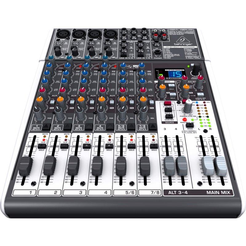 Mixer / Mesa de Som Xenyx X1204USB Behringer Bivolt com 12 Entradas