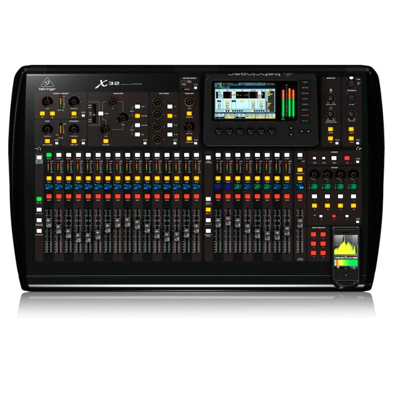 Mesa de som digital Behringer X32 de 32 Canais