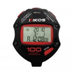 Cronômetro Kikos 100 Voltas CR100 Preto e Vermelho com Temporizador de Contagem Duplo