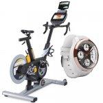 Bicicleta Ergométrica ProForm Le Tour de France 5.0 e Relógio com Pedômetro iFit Classic Branco