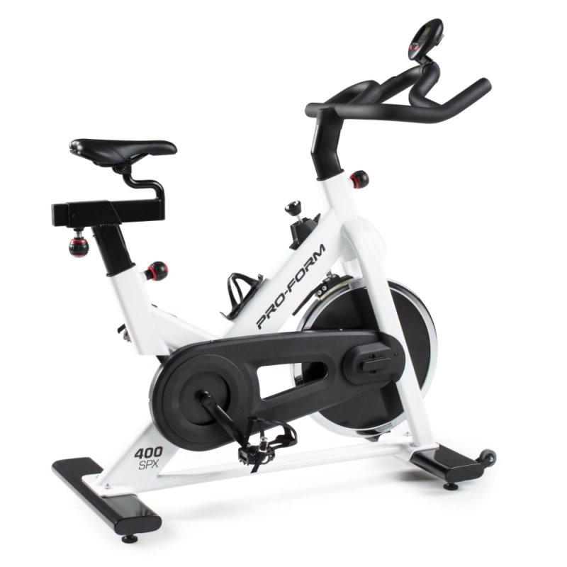 Bike Spinning Proform 405 Spx Branca 2 Ajustes Para Selim E 2 Ajustes