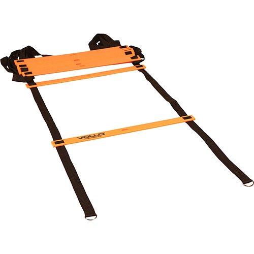 Escada de Agilidade Vollo VP1012 400 cm Com Tiras de Nylon e Corpo em Plástico
