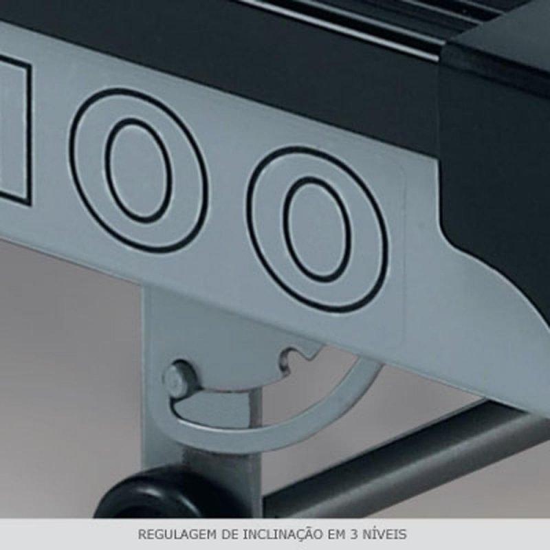 Esteira Ergométrica Johnson TREO T100 com 5 Programas e Inclinação Mecânica