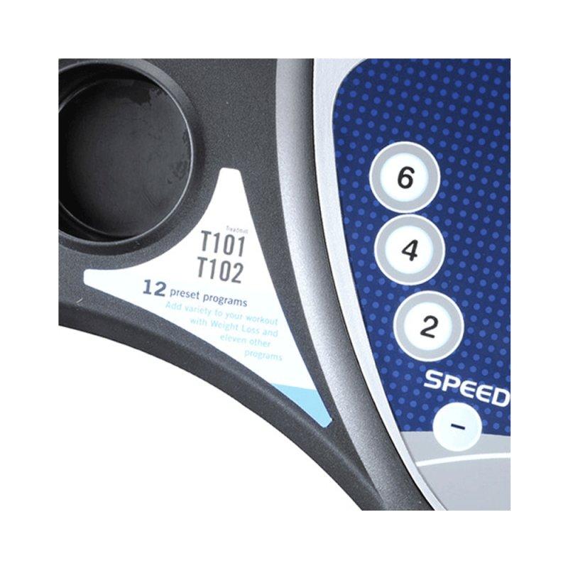 Esteira Ergométrica Johnson Treo T101 110V Dobrável com Painel LCD Até 16 Km/h