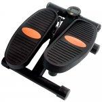 Mini Stepper Compact Acte Sports E15 Preto e Laranja