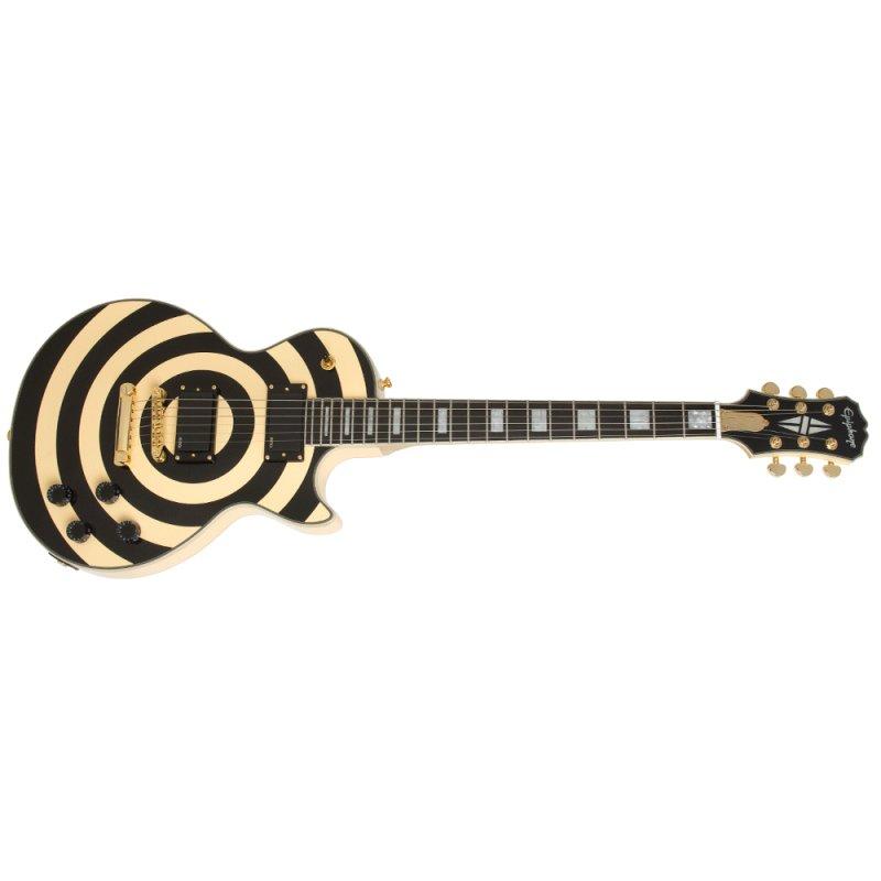 Guitarra Epiphone LP Custom Zakk Wylde Plus 81 / 85 White