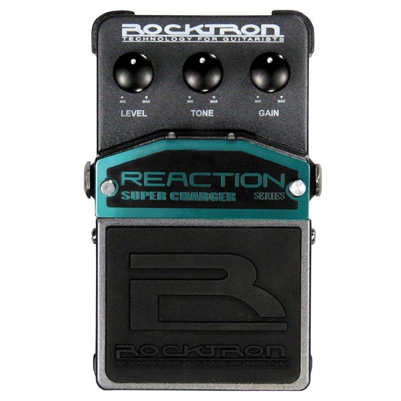 Pedal Guitarra Rocktron Reaction Super Charger