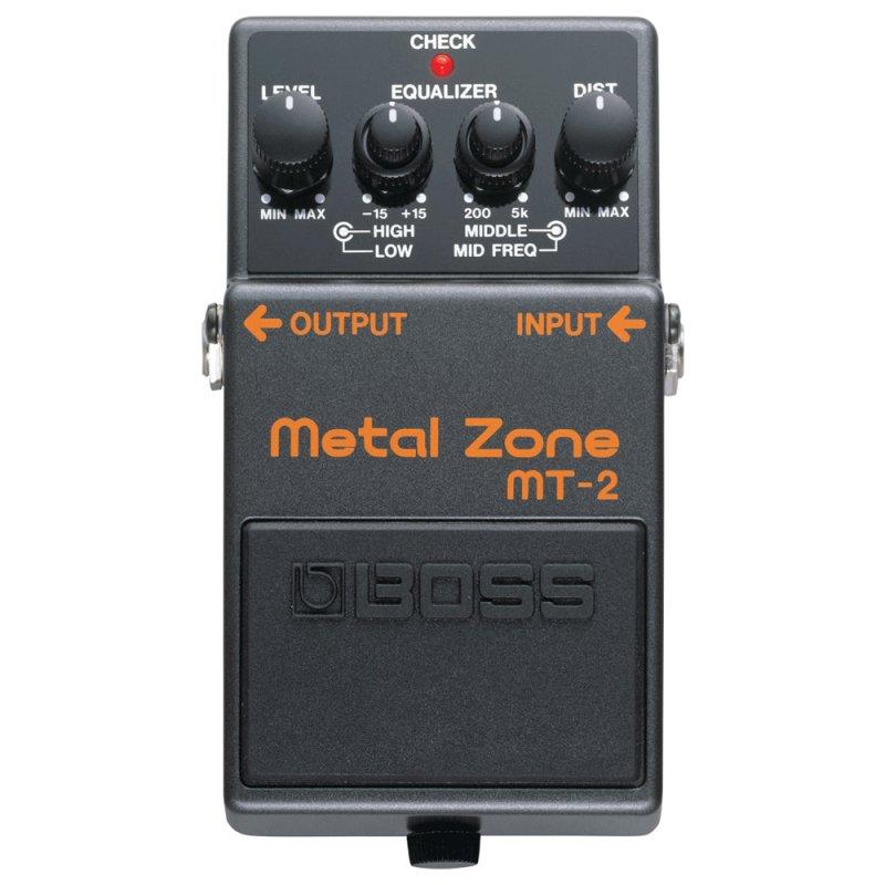 Pedal para Guitarra Boss MT - 2 com Efeito Metal Zone