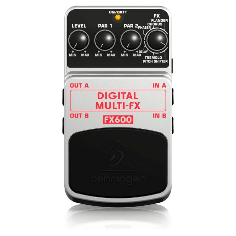 Pedal para Guitarra Behringer FX600 Prata com DIGITAL MULTI - FX