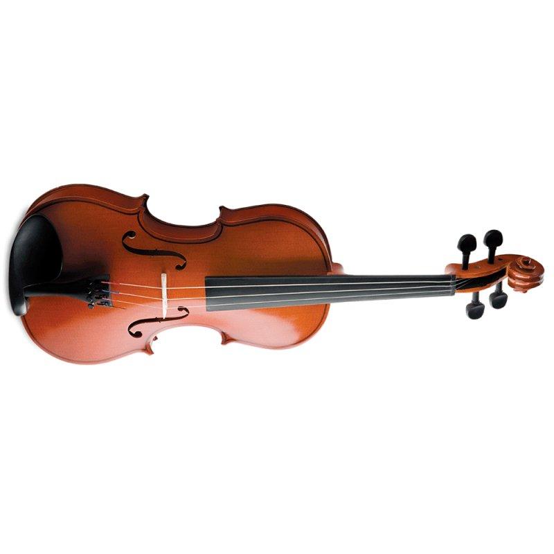 Violino Vogga VON144 4 / 4 Arco de Crina Animal Verniz Translúcido Avermelhado