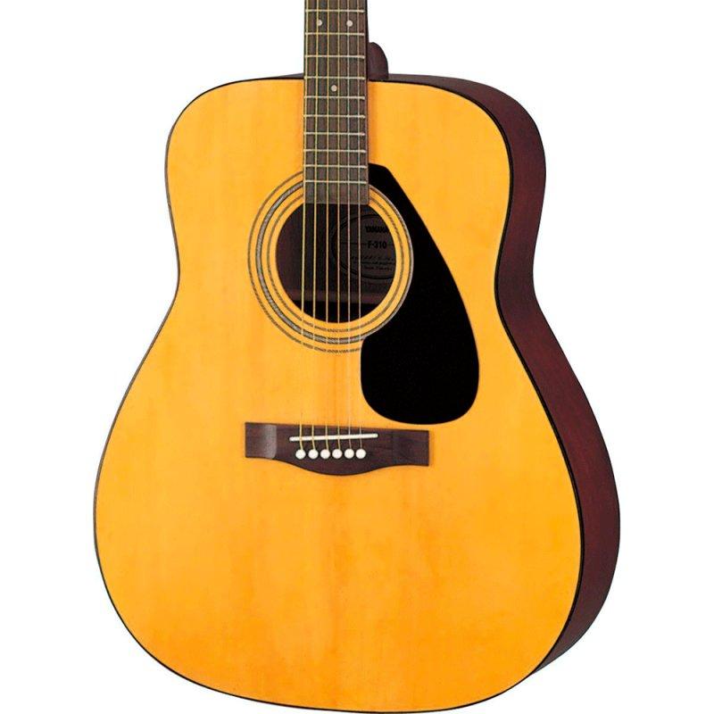 Violao Acustico Yamaha F310 Folk Natural com Cordas em Aco e Tarraxas Blindadas