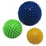 Kit de Bolas Proaction G271 Spiky para Massagem - 3 Bolas