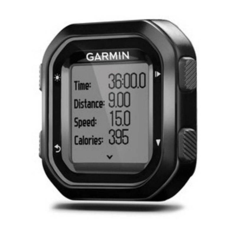 Ciclocomputador Edge 20 Garmin GPS Auto Lap Compacto Compatível com Virb Cinza