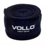 Bandagem Elástica Vollo VFG113 de 5cm x 3m Preta