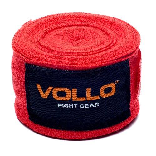 Bandagem Elástica Vollo VFG114 de 5cm x 3m Vermelha