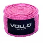 Bandagem Elástica Vollo VFG115 de 5cm x 3m Rosa
