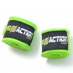 Bandagem Elástica com Poliéster Proaction Verde - Par 3Mts