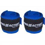 Bandagem Elástica com Poliéster Proaction Azul - Par 3Mts