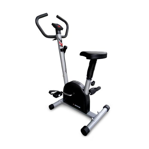 Bicicleta Ergométrica Vertical Kikos B3015 Preta e Cinza com Capacidade de até 100kg