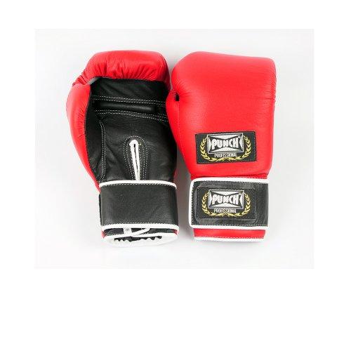 Luva de Boxe Profissional 316 Punch / 12 Oz / Vermelho