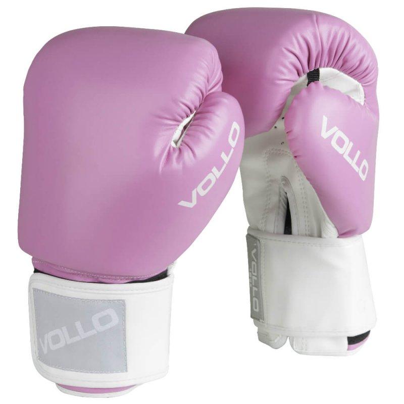 Luva de Boxe Vollo Combat VFG30310 10 Oz Rosa