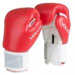 Luva de Boxe Vollo VFG302-10 Combat Tamanho 10Oz Vermelha e Branca