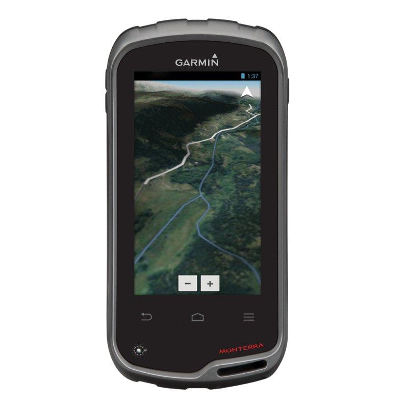 Tablet Monterra Garmin GPS Câmera 8mp Video HD Wi - fi e Bluetooth Preto