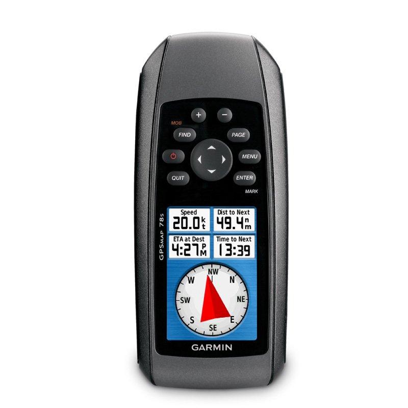 GPS Esportivo Portátil Garmin GPSMAP 78s Preto com 1,7GB de Memória USB e Bússola Eletrônica Tecnologia Preto GPS 2,6 polegadas
