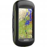 GPS Esportivo Portátil Garmin Montana 610 Preto e Verde com Tela de 4