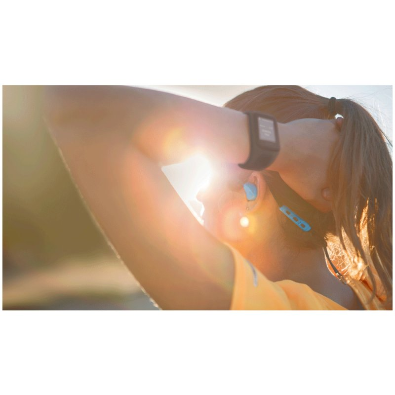 Relógio TomTom Spark Music Roxo Tamanho L com GPS e 3GB