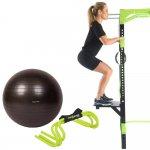 Kit Proaction, Stepper Ajustável, Gym Ball e Barreiras de Salto