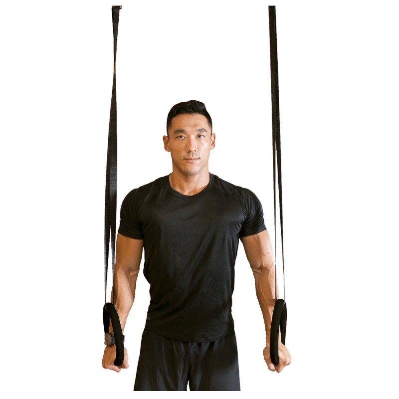 Argolas de Suspensão Acte T81 para Treinamento Suspedo e de CrossFit