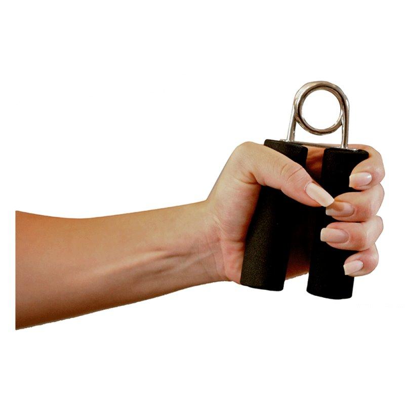 Hand Grip Acte T1 Preto em Aço e Espuma