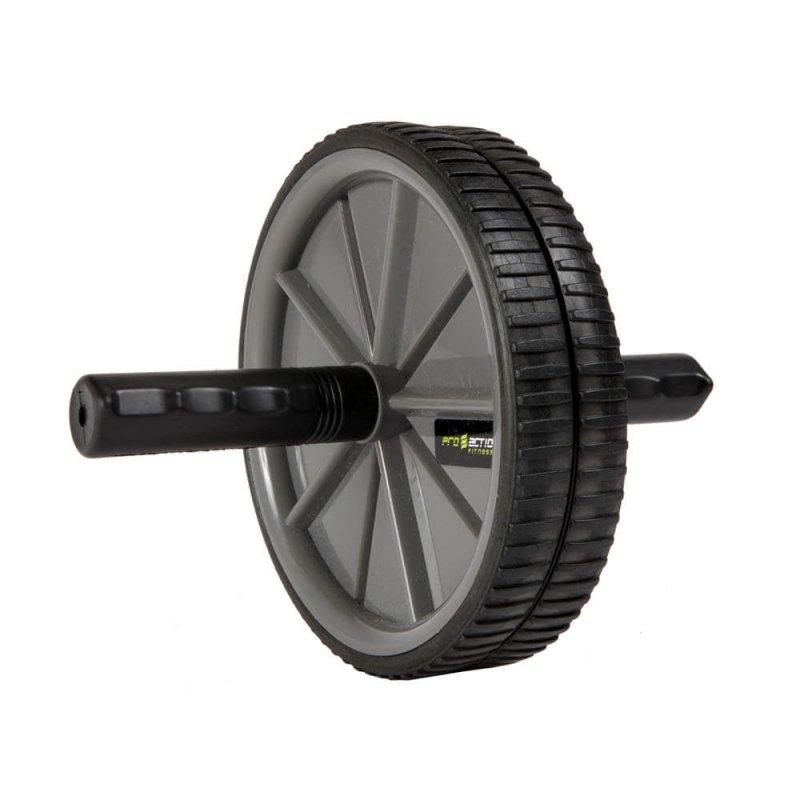 Roda de Exercícios Preta Proaction GA006 Tamanho Único