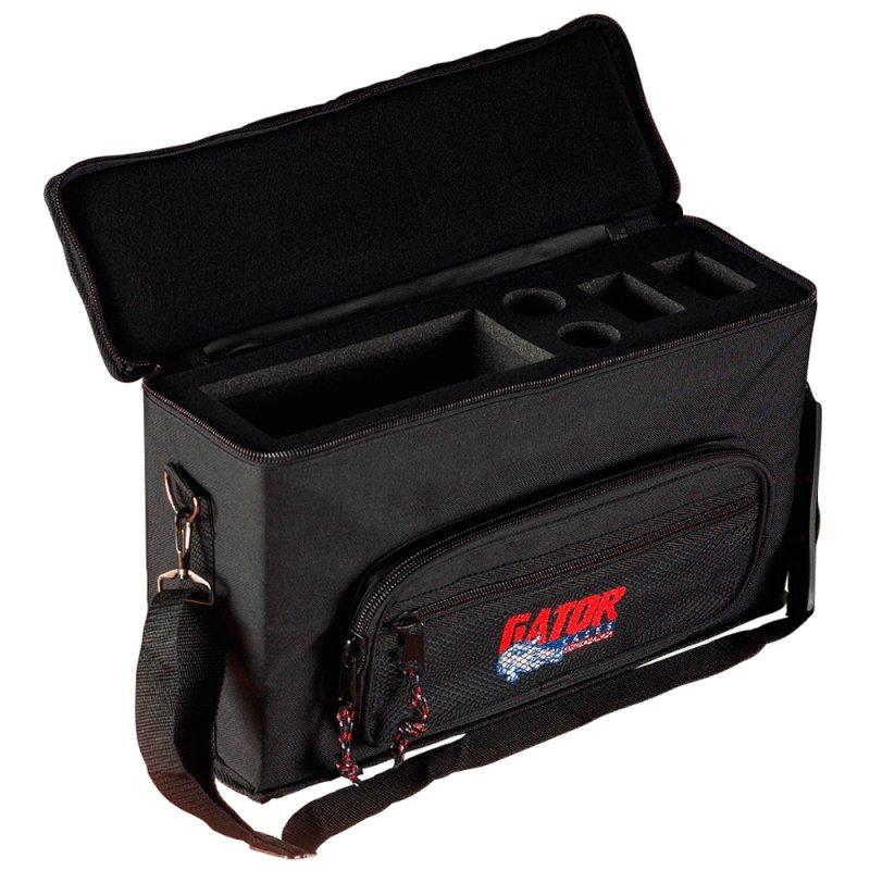 Bag para Microfones Gator GM 2W para Até 2 Microfones sem Fio Preto
