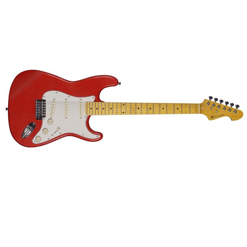 Guitarra Strato Michael Linha Stonehenge GM222MR 6 Cordas e 3 Single Coil