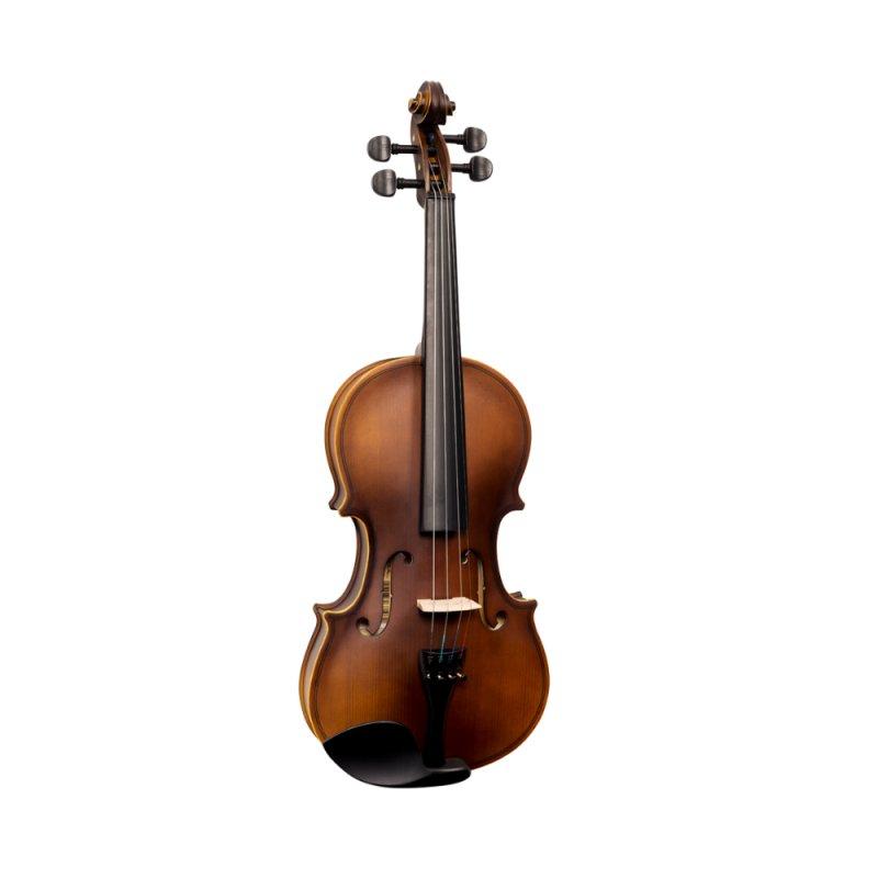 Violino Vogga Von144n 4/4 Verniz Translúcido Avermelhado Com Case E A