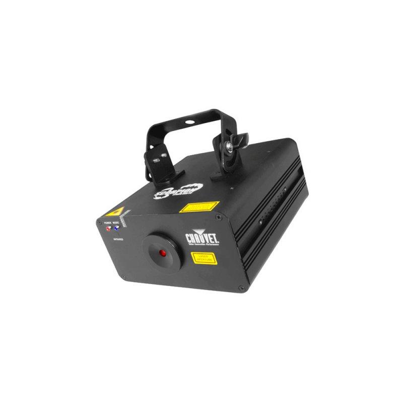 Laser Chauvet Scorpion Storm RGB EU Efeito com Raios Laser Bivolt Preto Luz e Video