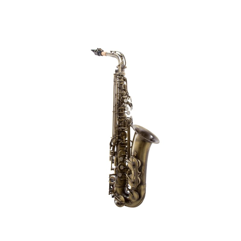 Saxofone Alto Waldman WSA OL com Acabamento Vintage e Afinação em Mi Bemol