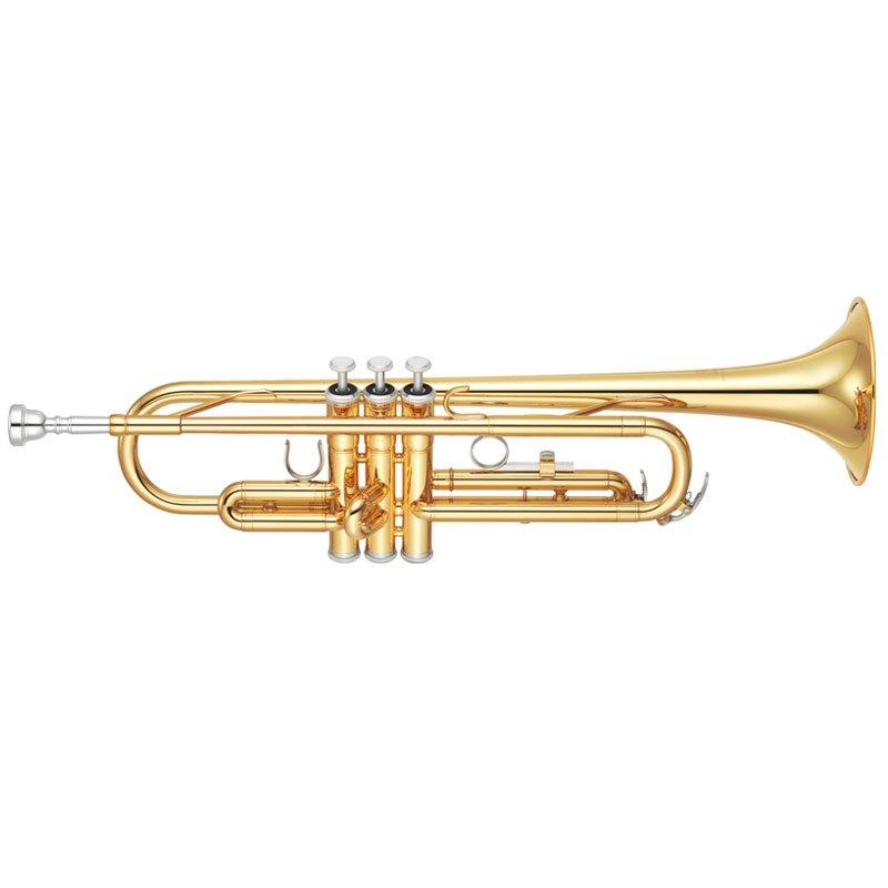 Trompete Yamaha Ytr-2330 Afinação Em Si Bemol 2 Gatilhos Laqueado Dou