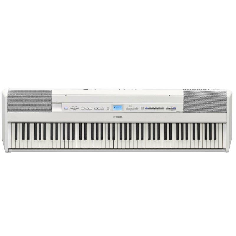 Piano Digital Yamaha P-515 Branco Com 256 De Polifonia 88 Teclas Acom