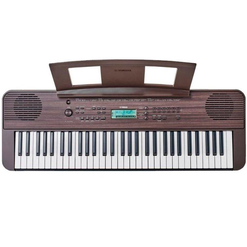 Teclado Musical Yamaha Psr-e360dw Dark Walnut Com 61 Teclas E Teclas