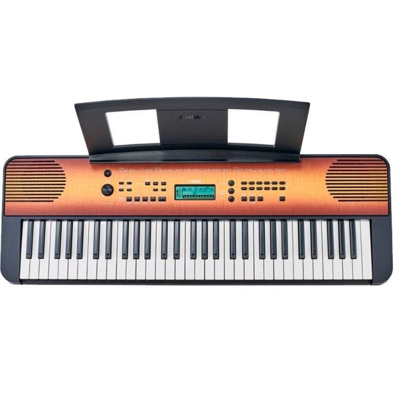 Teclado Musical Yamaha Psr-e360ma Maple Com 61 Teclas E Teclas Sensív