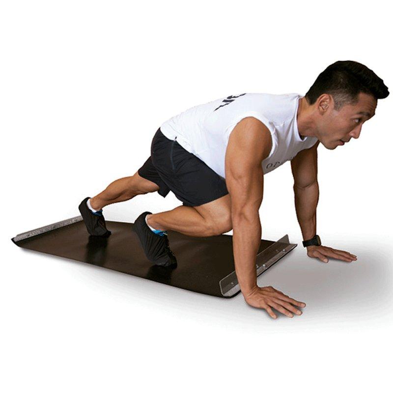 Slide Board Acte T83 para Simulação de Movimentos de Esqui e Patinação