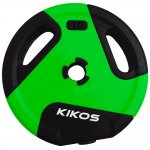 Anilha Kikos 10Kg IR91041/10S Style Cement Ps Preto / Verde